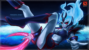 DotA 2's Vengeful Spirit by CyberBladeVN