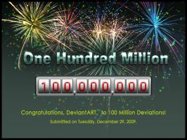100 Million Deviations by Lilyas