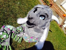 [SOLD]GOAT PARTIAL SUIT FOR SALE!!! by mewmew12378