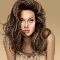 Angelina jolie by Todaviia