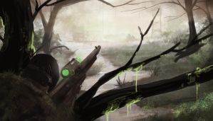 swamp sniper speed paint by ShinoShoe26