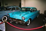 Turquoise 1957 Chevy Bel Air by Texas1964