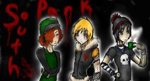 Gothic South Park by Hotalaska