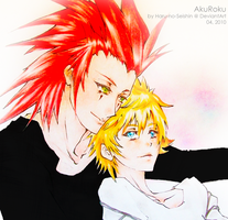 AkuRoku: Here in the afterlife by Haru-no-Seishin
