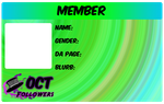 2011 ID Badge Member by TeaKayBlue