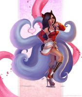 Pinup Ahri by PetraImboden
