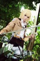 Attack on titan : Armin Arlert by basilicum84
