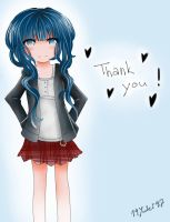 THANK YOU!!! by 19Yuki97