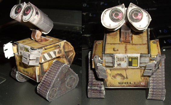 Papercraft Wall-E by ykansaki