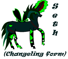 Be hold Seth and his Changeling form by BlackCherry1994