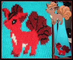 Vulpix Scarf by MadMouseMedia