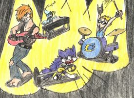 TDA FsF - ROCK ON! by TheRaven-King
