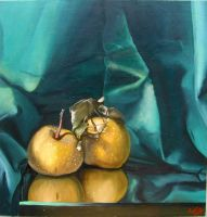A Pair of Pears by trinafool