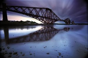 Forth Rail Bridge by ruffo83