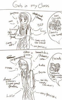 difference between me and the other girls by FireFliesOnSummer