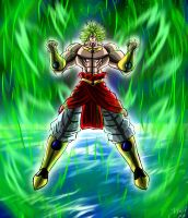 Broly Returns by SirWolfgang