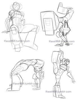 Beatback Sketches by AXEL464