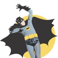 Batman - Adam West by TelevisionBox