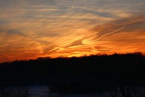Winter Sunset by Pyro82