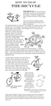 Hints for Drawing Bicycles by PowFlip