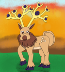 Mega-Stantler by Dracoknight545