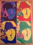 George Harrison Pop Art by MickysGirl4Ever
