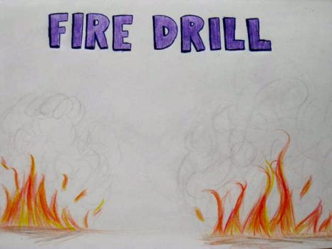 Fire Drill by sofianime018