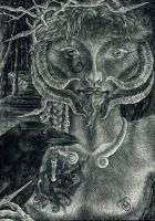 The Horned God by sphinxmuse