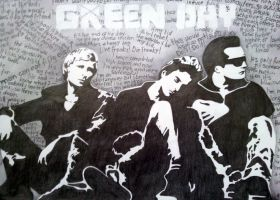 Green Day by Lucky-Jacky