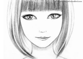 Girl by ilAyanami-sato