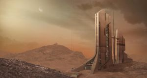 Matte Painting II by SAdreams
