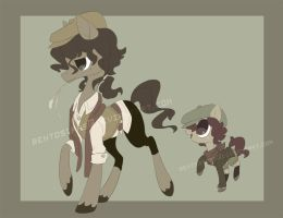1920's Pony Adopts Auction (AUCTION OVER) by BentoStars