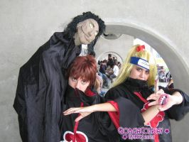 Romics 2007 - Deidara e Sasori by Tales-of-sharingan