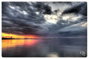 Drammatic Sunset by AmirNasher