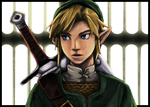 Zelda: Link Colored by Eric727
