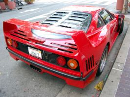 Ferrari F40 Monterey car week by Partywave