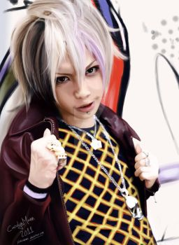 Takeru Vocalist of SuG by SemiDreamatic