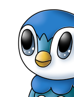 Piplup by AlenaChen