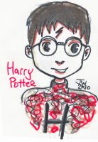 Harry Potter in Xmas Jumper by MadisonHRW