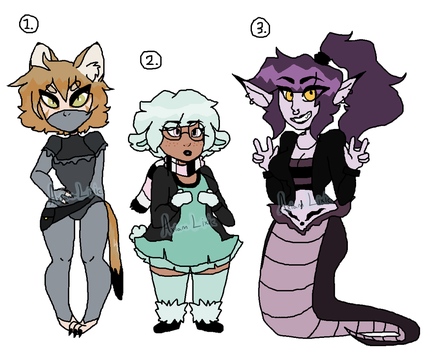 Adoptable POINTS AUCTION (OPEN) by SewnOnLetters