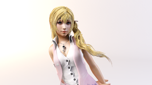 3DS Max - Serah Farron Render by SilverMoonCrystal
