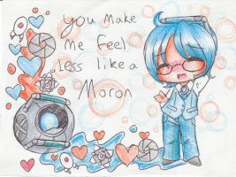 Wheatley Valentine by bunnyb133