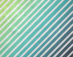Blue Green Grunge Stripe by R2krw9