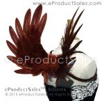 eProductSales Julietta brown feather Wings by eProductSales