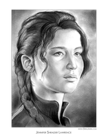 Jennifer Lawrence by gregchapin