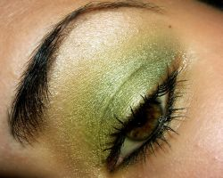 Green Eye v2 CloseUp by temptalia