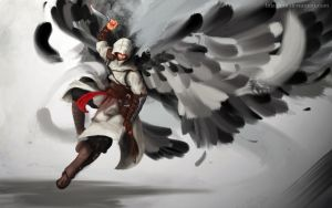 Altair_Spreaded Wings by LinaZhou
