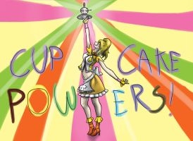 CUPCAKE POWERS! by DesignSpry