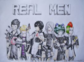 REAL MEN by princetheripper33
