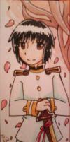 Hetalia Bookmark: Japan by black-feather1013